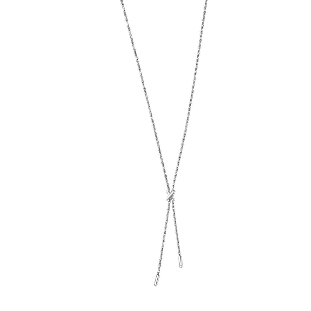 Amanda Rose X Element Lariat Necklace in Sterling Silver (17 in. Chain)