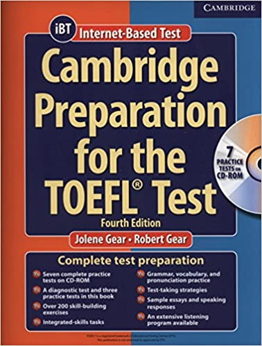 Cambridge Preparation For The Toefl Book