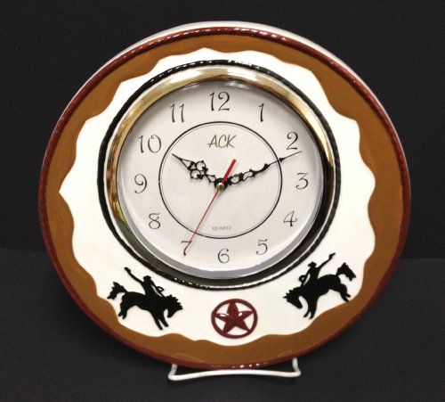 Western Decor Amazon: Amazon.com: Wall Decor Clock, Western Cowboy Decor: Home