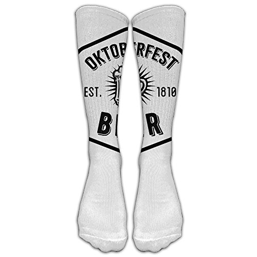 German Munich Oktoberfest Beer White Stockings Long Tube Socks, Great Quality Classics Knee High Socks Sports Socks Perfect Gifts For Women Men Teens Friends - Great Beers Summer