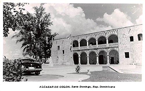 Alcazar de Colon Santo Domingo Dominican Republic Postcard