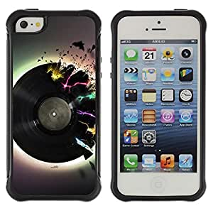 Jordan Colourful Shop@ Vinyl Music Neon Colors Art Love Retro Dance Rugged hybrid Protection Impact Case Cover For iphone 5S CASE Cover ,iphone 5 5S case,iphone5S plus cover ,Cases for iphone 5 5S