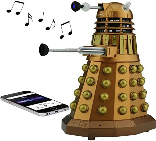 Doctor Who Dalek Merchandise Fametek Bluetooth Speaker
