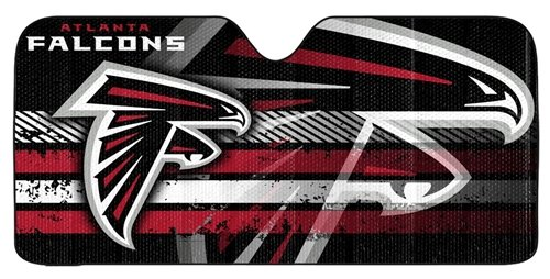 Atlanta Falcons Auto Sun Shade - 59''x27'' (Fame Of Hall Atlanta Falcons)