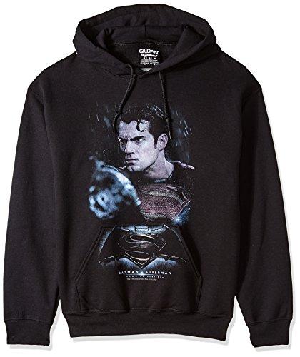 Trevco Men's Batman Vs. Superman Super Angry Hoodie Sweatshirt at Gotham City Store
