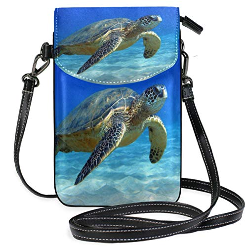 Phone Purse Mini Cell Phone Pouch Animal-Sea-Turtle for Women -