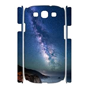 3D Milky Way over Sea Shore .png Samsung Galaxy S3 Case, Case Kweet {White}