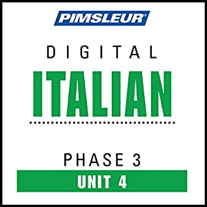 Italian Phase 3, Unit 04 Audiobook
