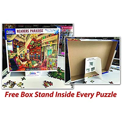 White Mountain Puzzles Things I Read as a Kid - 1000 Piece Jigsaw Puzzle: Toys & Games