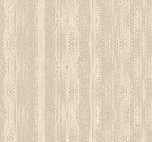 Décor Direct YWTR4225 Navajo Stripe Wallpaper, x 27 ft. = 60.75 sq.ft, in Browns