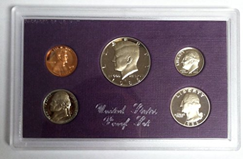 1986 S U.S. Proof Set in Original Government Packaging Proof (Uncirculated Nice Coin)