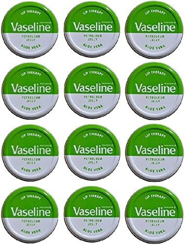 Lip Therapy Aloe (Vaseline Lip Balm 20g/0.705oz (12x20g/0.705, Aloe Vera))