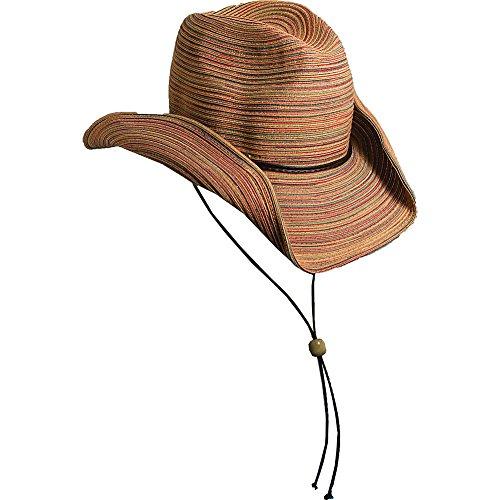 Scala Women's Poly Braid Western Hat, Spice, One Size