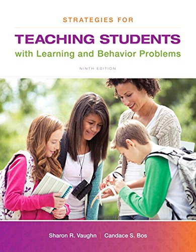 Strategies for Teaching Students with Learning and Behavior Problems, Enhanced Pearson eText --Standalone Access Card (9th Edition)