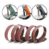 1 Inch x 30 Inch Sanding Belts, 3 Each of