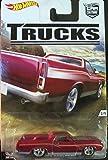2016 Hot Wheels Car Culture Trucks Limited Edition Real Riders Metal/Metal '72 Ford Ranchero 2/5