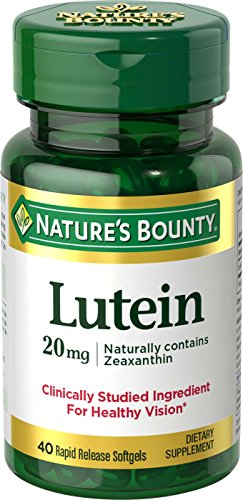 Natures Bounty Lutein Softgels Pack
