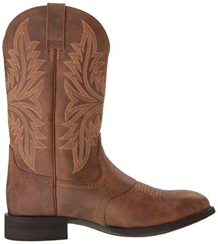 Ariat Menns Arv Hackamore Western Cowboy Boot, Gulbrun, 9 2e Oss Gulbrun
