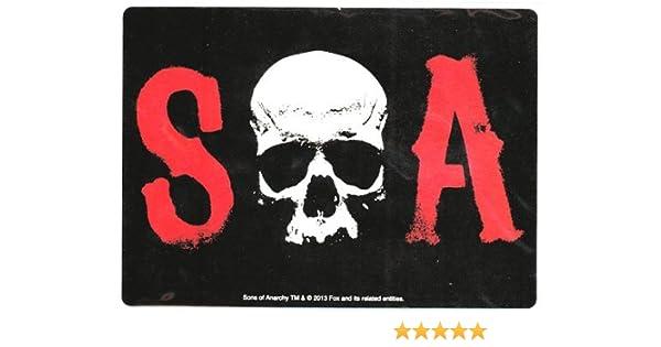Sons Of Anarchy S Skull Un imán de coches: Amazon.es: Juguetes y juegos