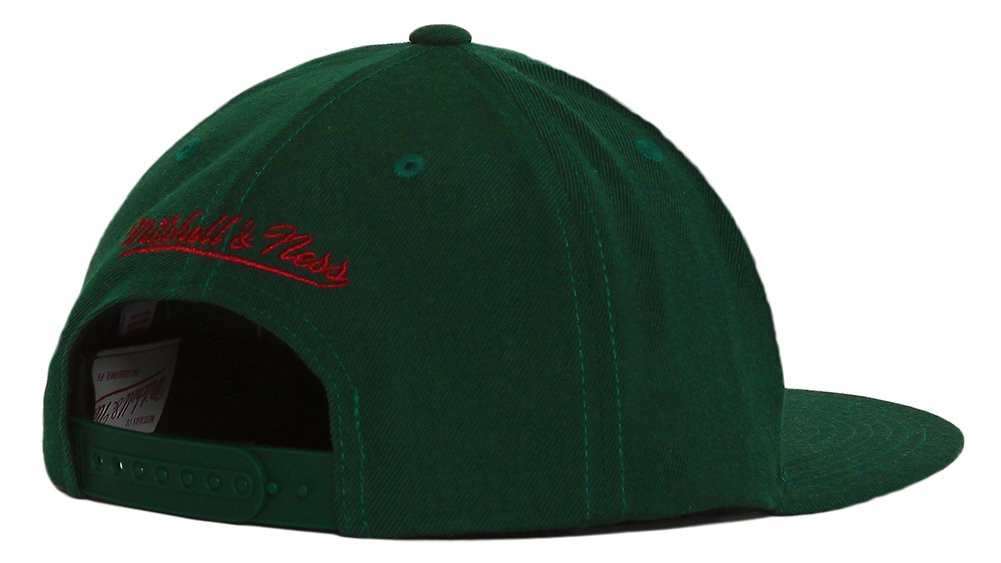 Mitchell /& Ness NBA Wool Solid 2 Snapback Cap