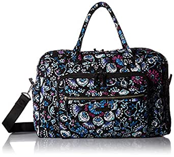 837138b5027c Image Unavailable. Image not available for. Color  Vera Bradley womens Iconic  Weekender Travel Bag ...