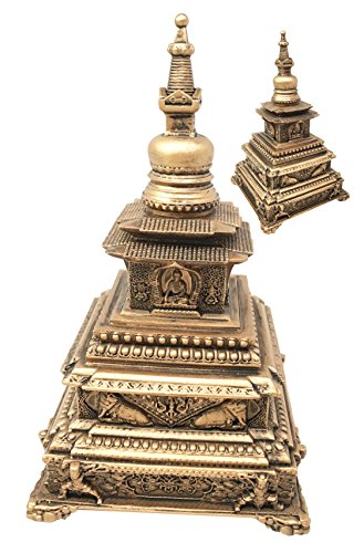 Eastern-Enlightenment-Taoist-and-Buddhist-Vihara-Pagoda-Monument-Collectible-Figurine-For-Home-Decorative-Worship-Altar-Accessory-Asian-Living-Gift