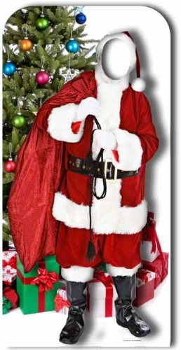 Father Christmas Stand in - Stand In Lifesize Cardboard Cutout / Standee / Standup