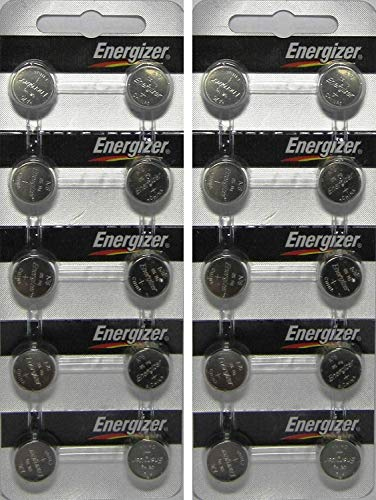 (20 Energizer AG13 LR44 A76 L1154 Alkaline Battery With Long Shelf Life (Expire Date Marked))
