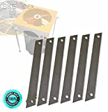 SKEMiDEX--- 6pc Replacement Cutting Blades for Hydroponic r Leaf Bud Trim Reaper Trimmer This auction is Replacement Blades for Hydroponic Trimmer Measurement: L 6-3/4'' and 3/4'' W