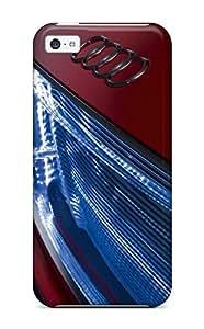 Case Cover 2009 Audi Etron 10 Led Lighting Cars Audi/ Fashionable Case For Iphone 5c