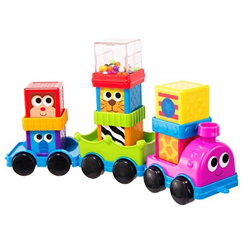 UPC 037977805192, Sassy Block Set, Zoomin' Train