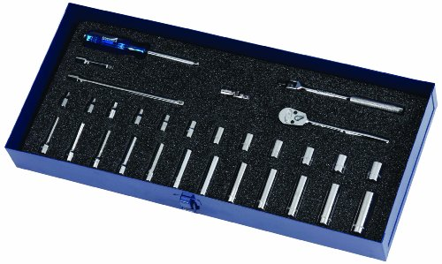 Williams MSM-30HF 30-Piece Metric Socket and Drive Tool Set