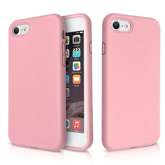 iphone 8 case shockproof pink