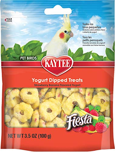 Kaytee Fiesta Yogurt Dip Cockatiel Strawberry/Banana 3.5oz