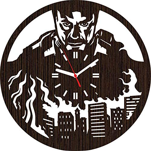 Reality Tv Costumes Ideas - Wooden Wall Clock Iron Man Gifts
