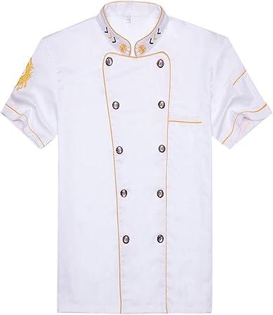 WMOFC Chaquetas Chef Uniforme,Camisa De Cocinero,Hotel ...