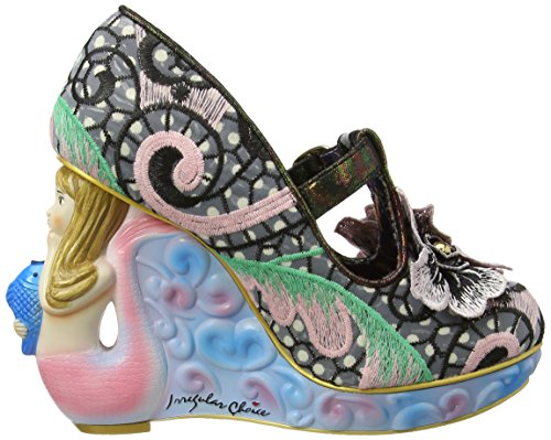 Irregular Choice Women's Aquata T-Bar Pumps Fashion Style cc6D85T