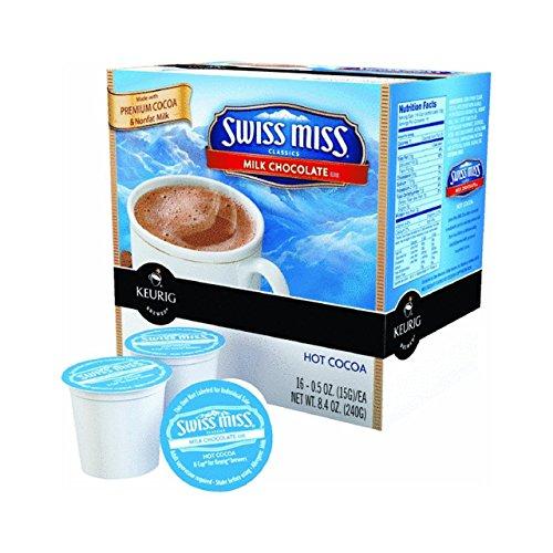 Swiss Miss Milk Chocolate Hot Cocoa Keurig K-Cups-Super P...
