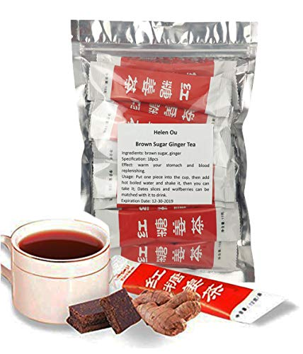 (Helen Ou@ 红糖生姜茶 Brown Sugar Ginger Tea 180g )