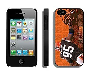 NFL Cleveland Browns Juqua Parker iphone 4 4S phone cases Gift Holiday Christmas GiftsTLWK935359