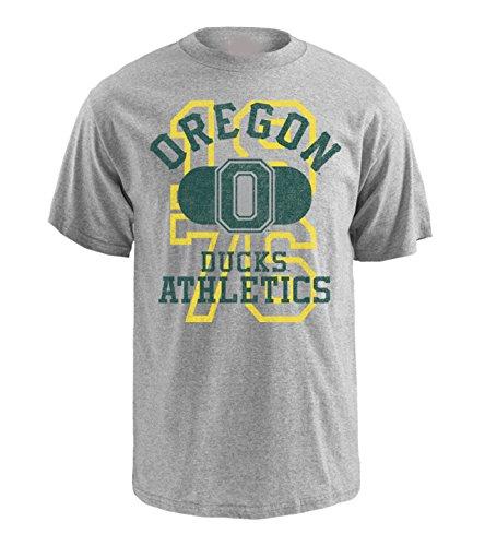 NCAA Oregon Ducks Pro Weight Short Sleeve Logo T-Shirt, XX-Large