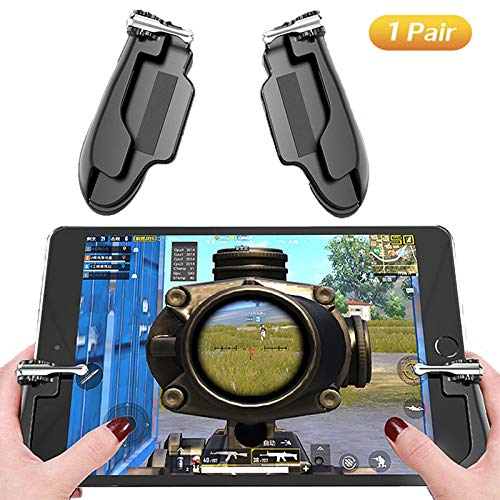 PUBG Mobile Game Controller for iPad, Ismael Erickson Tablet Phone Trigger Sensitive Shoot and Aim L1R1 Cellphone Gamepad Joystick