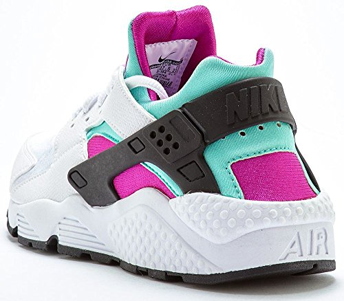 Nike Huarache azul Blanco 104 flash fucsia Mujer Zapatillas Air verde r5qw0Ar