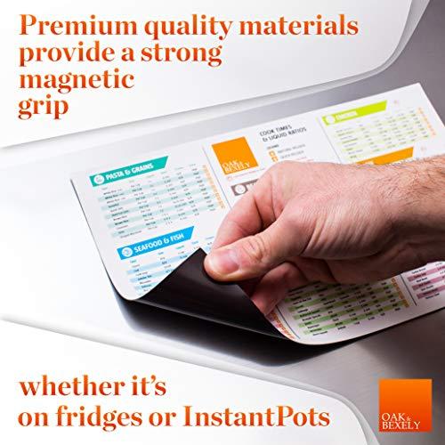 Pressure Cooker Accessories  Insta Pot Cheat Sheet Magnet Set  Instant Pot Times Cookbook