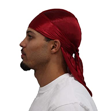 amazon com silk durag 360 waves premium satin wave cap extra