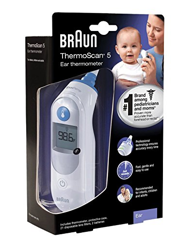 Braun Ear Thermometer New Mega Size Package of 2 by Braun