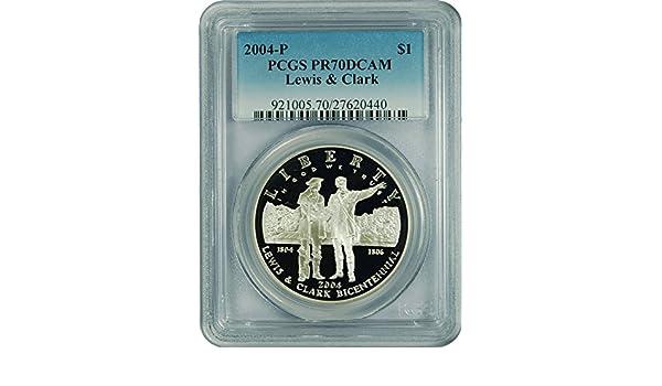 New PCGS Label 2004-P PCGS  PR69DCAM Lewis /& Clark