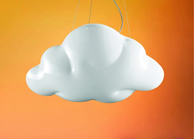 Nuvola sospensione lampadario per camera cameretta lampade a led