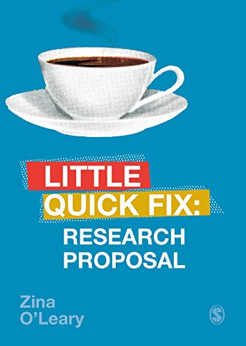 Research Proposal: Little Quick Fix (English Edition)