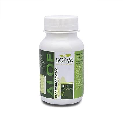 Sotya Aloe Vera Masticable - 100 Comprimidos: Amazon.es ...